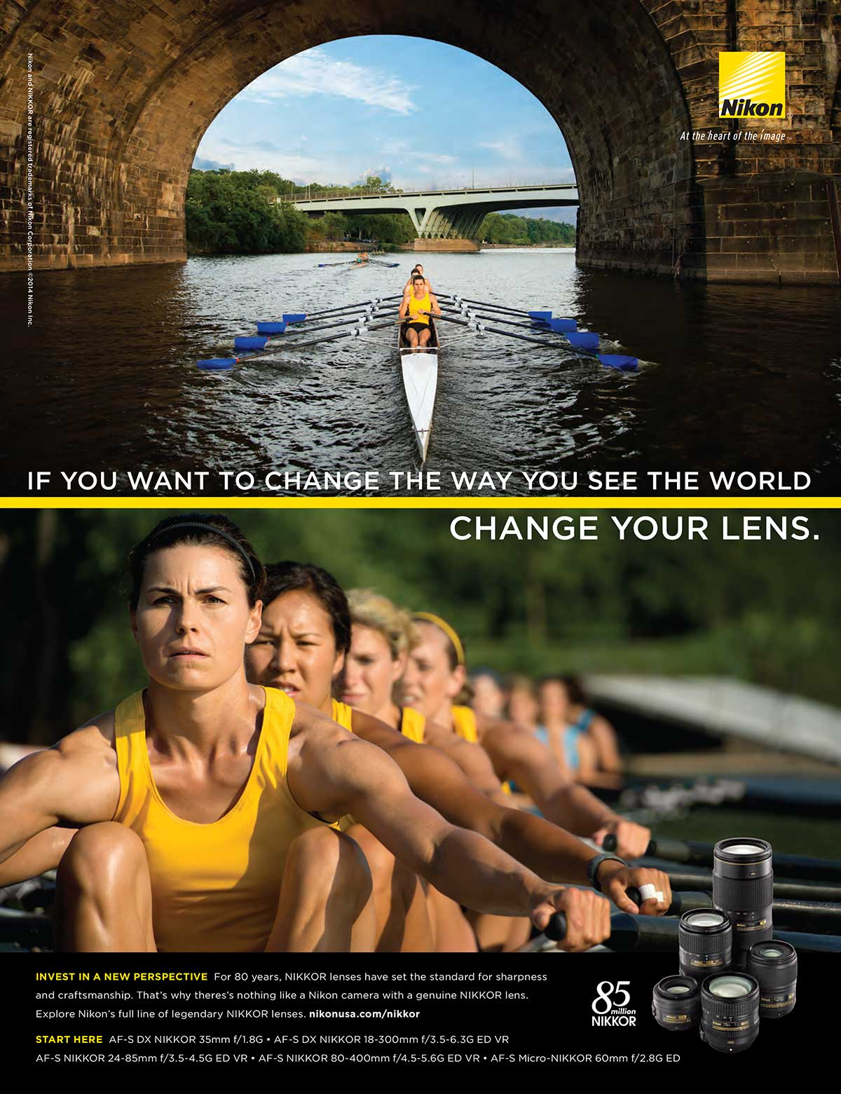 If you want to change the way you see the world, change your lens.